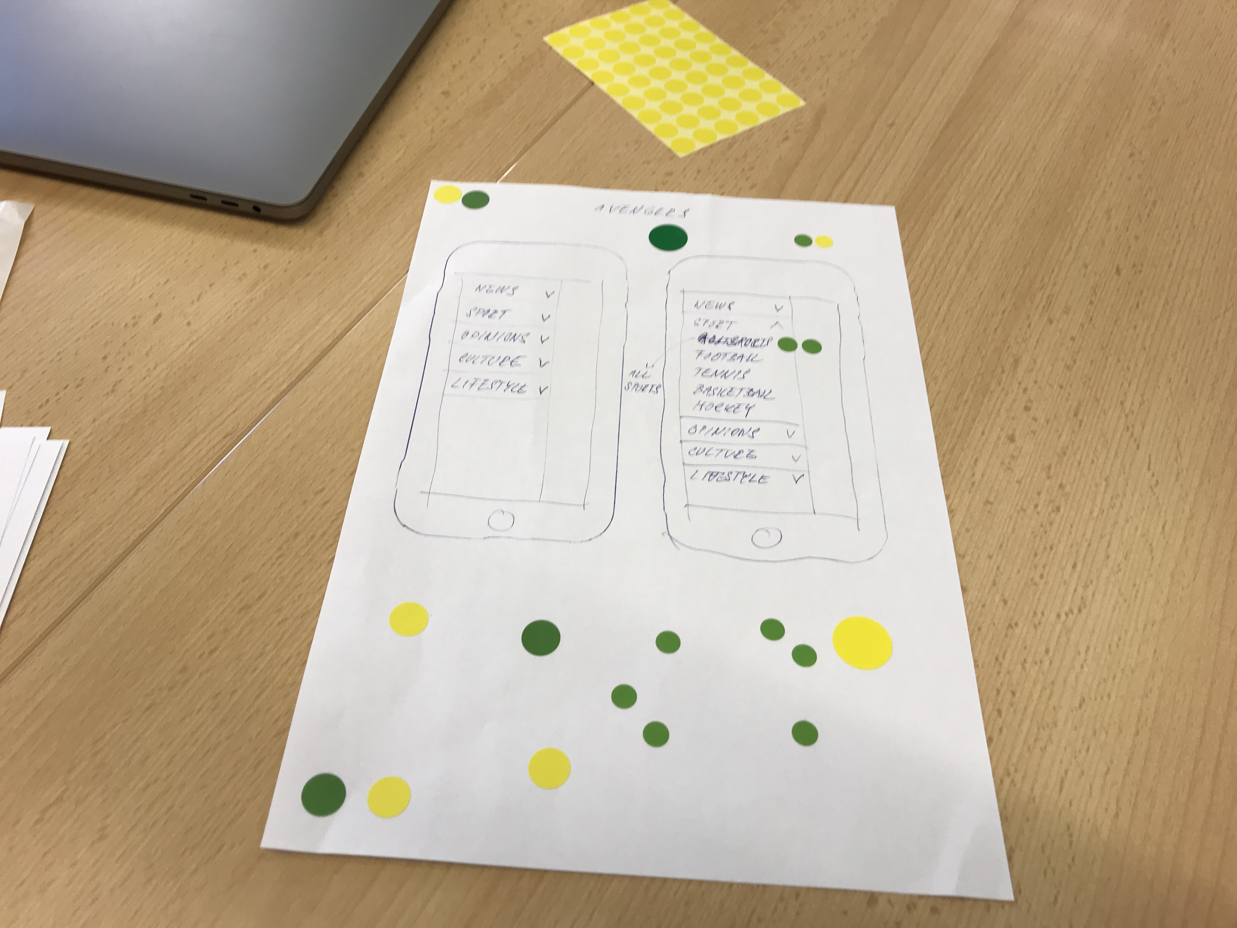 Workshop Smart responsive interface