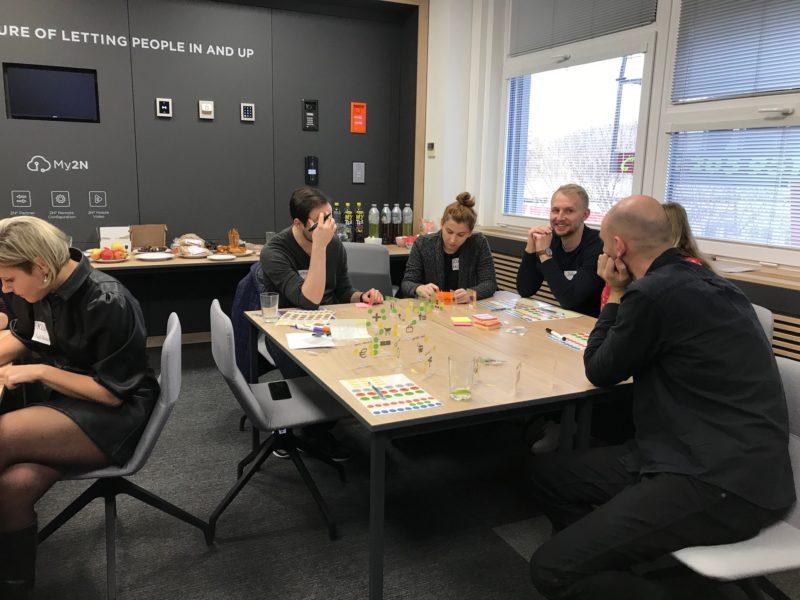 Workshop Lean service design - stavba fyzického modelu služeb