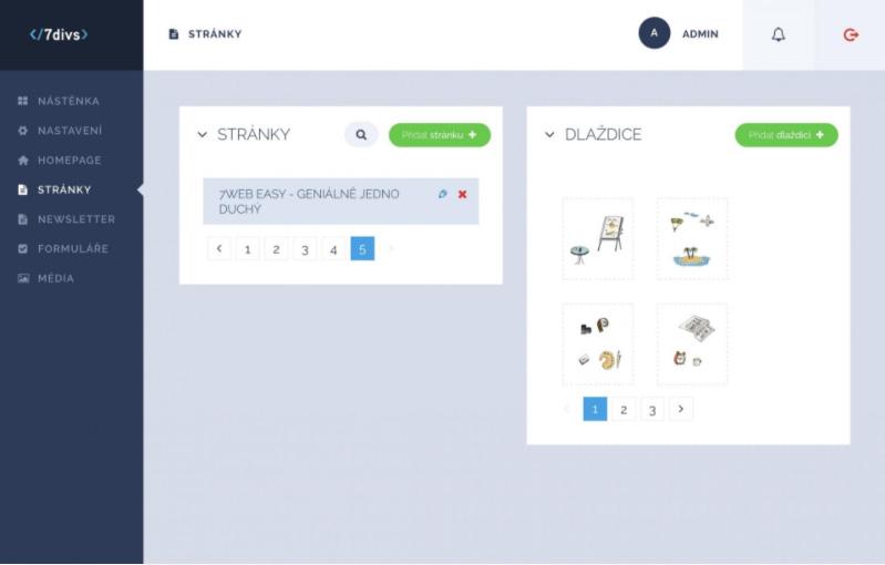 7divs - API na výrobu webových projektů