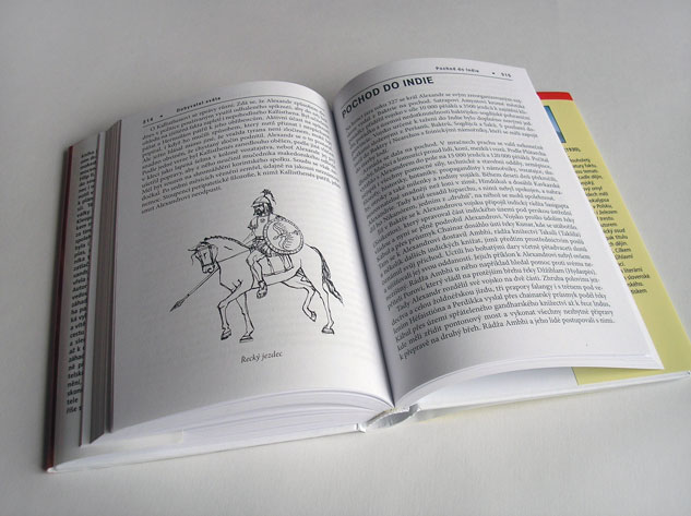 Ilustrace ke knize Dobyvatel světa