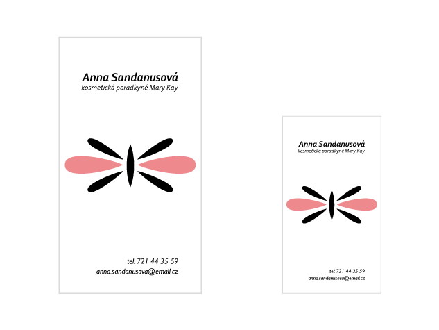 Vizitka Anna Sandanusová