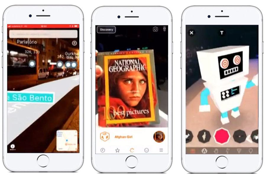 Blippar aplikace s rozšířenou realitou
