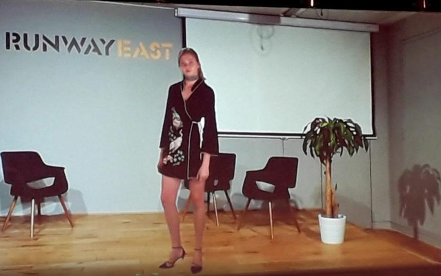 Virtuální módní prezentace pomocí hologramu