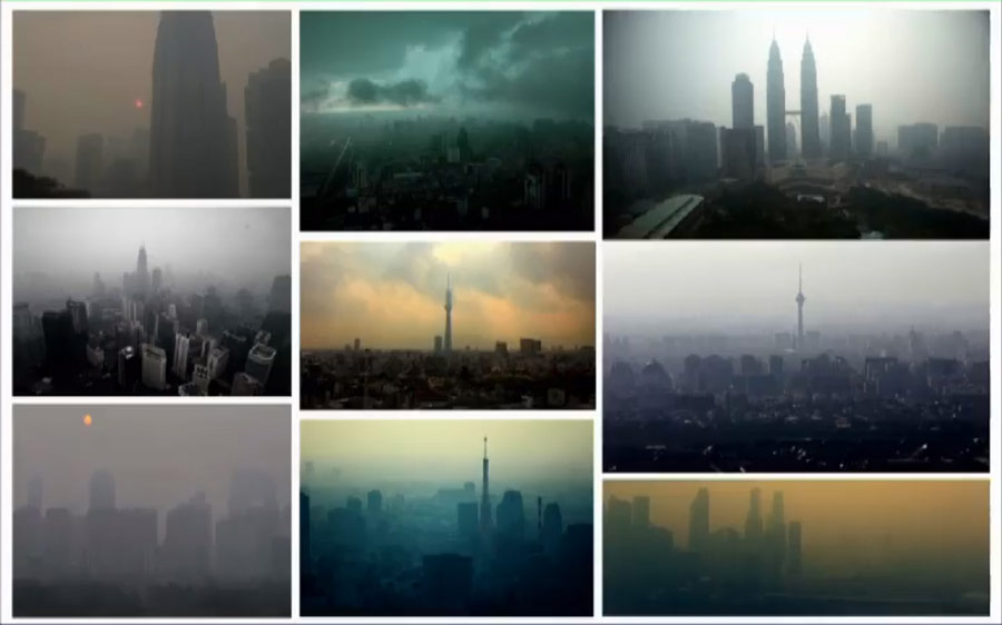Mrtvý svět - inspirace čínskými mrakodrapy
