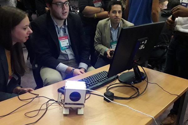 Testování IBM robota TJBot