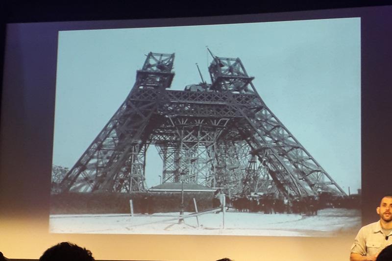 Stavba Eiffelovy věže