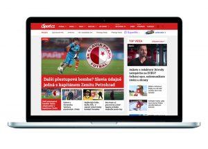 iSport - hlavní stránka
