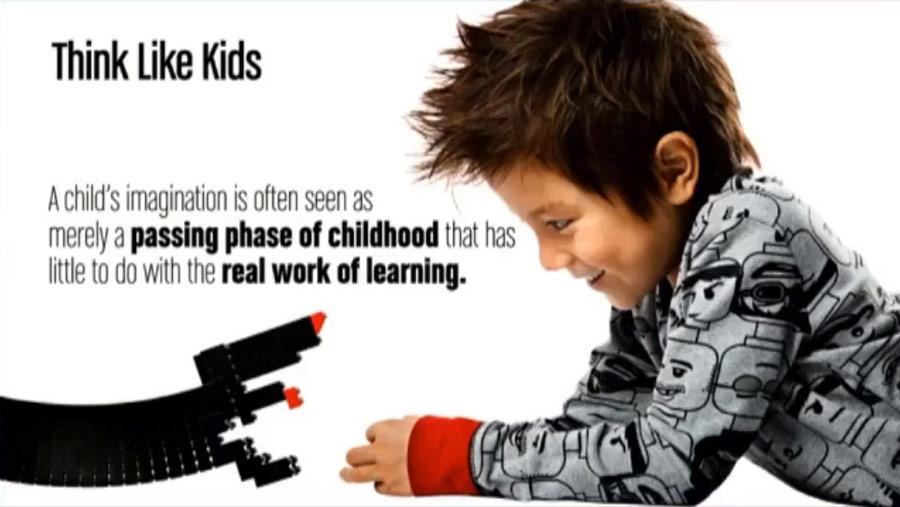 Lego strategie k úspěchu - myslet jako děti