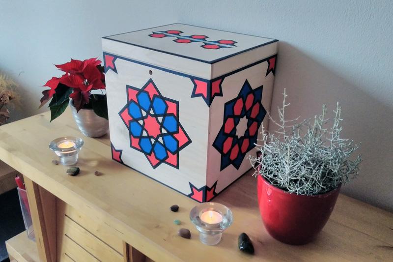 Krabička na památku našich blízkých