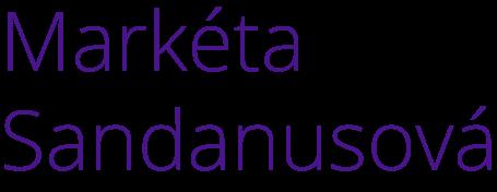 Markéta Sandanusová Logo