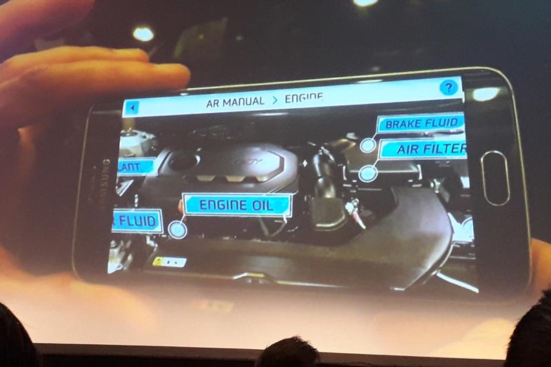 Virtuální manuál vozu