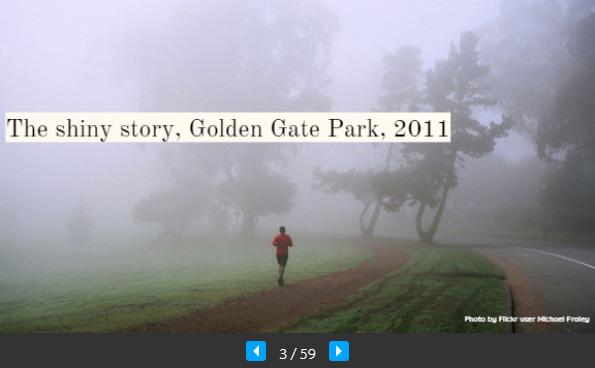 UX a UI Golden Gate parku