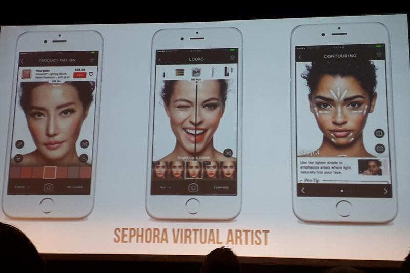 Sephora -virtuální make-up