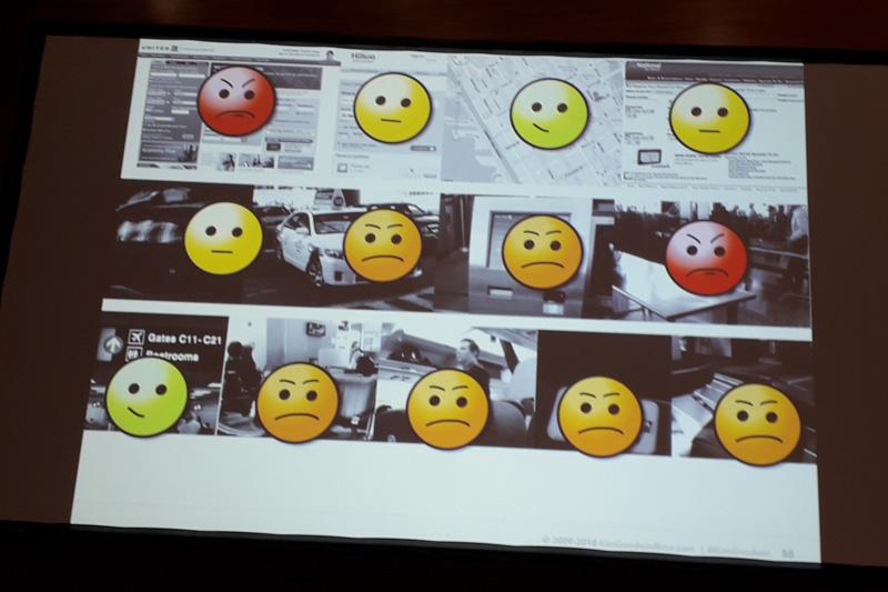 Definování emocí pro jednotlivé kroky využití služby