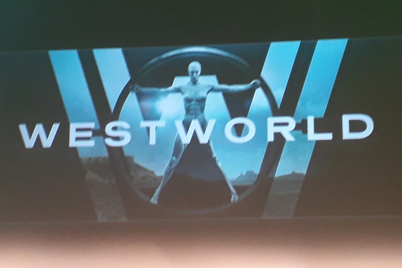 Westworld - inspirace vitruviánským mužem od Leonarda da vinci